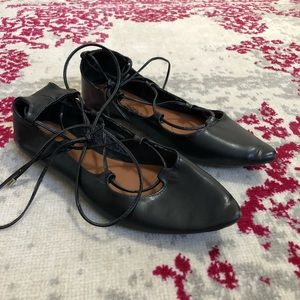 Old Navy Lace Up Flats